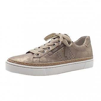 غابور إمب الدانتيل حتى أحذية رياضية جلدية واسعة تناسب في الفطر