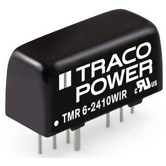 TracoPower TMR 6-2411WIR DC/DC-konverter (print) 24 V DC 1200 mA 6 W Nr. af udgange: 1 x