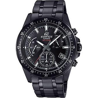 Kronograf Armbåndsur EFV-540DC-1AVUEF (L x B x H) 48,5 x 43,8 x 12,1 mm Svart kapslingsmateriale = Rustfritt stål Materiale (klokkestropp) = Rustfritt stål Casio