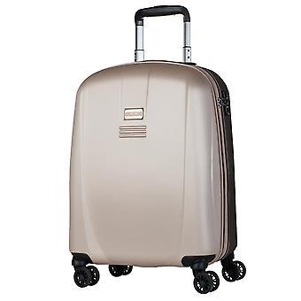 JASLEN Bucarest Handbagage Trolley S dames, 4 wielen, 39 cm, 35,5 L, Goud