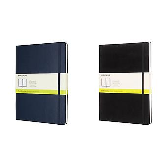 Moleskine Classic XL hard cover plan notebook