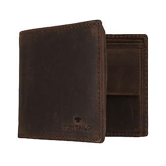 Bolsa carteira bolsa masculino-TOM TAILOR RON com proteção de RFID Brown 7655