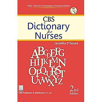 CBS Dictionary for Nurses by Jacintha D'Souza - 9788123927169 Book