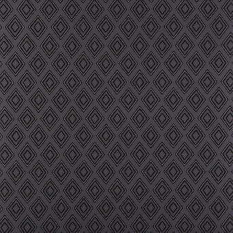 Diamond Wallpaper Graham Brown Fresco Charcoal Black Smooth