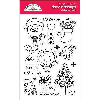 Doodlebug Design Christmas Magic Doodle Stamps