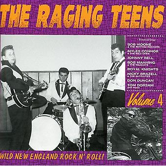 Raging Teens - Vol. 4-Raging Teens [CD] USA import