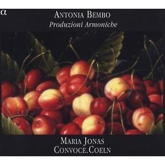 G. Bembo - Antonio Bembo: Importazione di Produzioni Armoniche [CD] Stati Uniti d'America