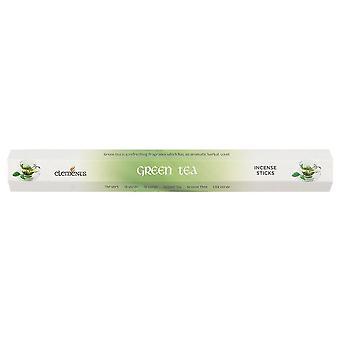 Elements Green Tea Incense Sticks (6 Packs)