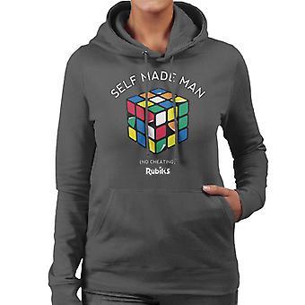Rubiks self made man kvinnors Huvtröja
