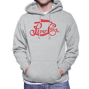 Pepsi Cola 1905 Logo Men's Hooded Sweatshirt