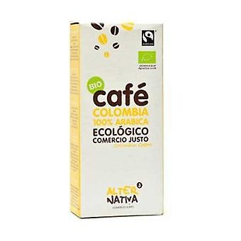 Ground Coffee Colombia 100% Organic Arabica 250 g