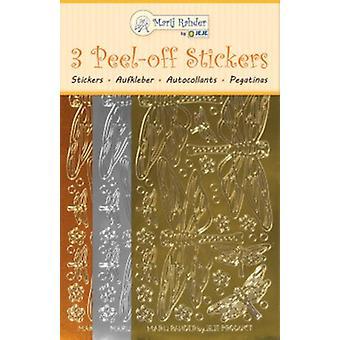 Marij Rahder Peel-Off Stickers Dragonfly (3pcs) (9.0100)