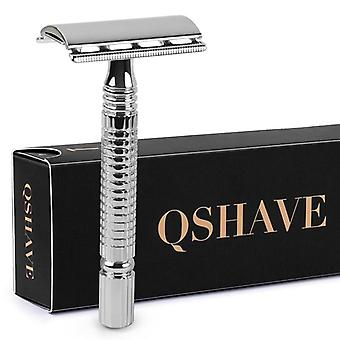 Short Handle Classic Safety Razor Double Edge Men Shaving Razor