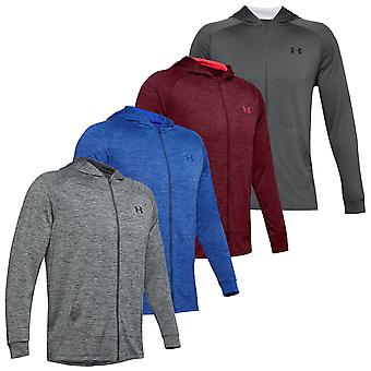 Under Armour Mens 2020 Tech 2.0 Moisture Wicking Hajuntorjunta Full Zip Huppari