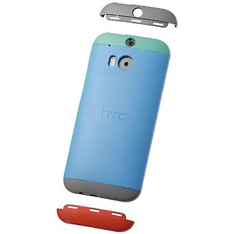 HTC HC-C940 Double Dip Hard Shell for One (M8) blue/green/grey