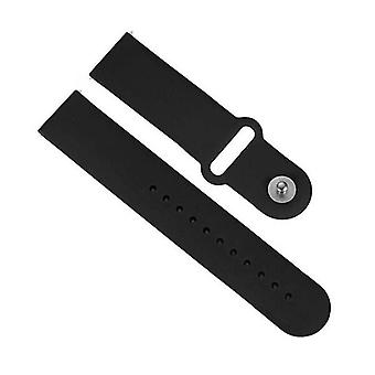 Soga Smart Watch Model B57C Compatible Wristband Replacement Strap Blk