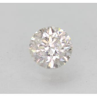 Zertifiziert 0.82 Carat E SI1 Round Brilliant Enhanced Natural Loose Diamond 5.81mm