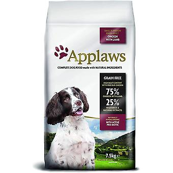 Applaws Dog Dry Adult Small/Medium Breed Lam - 7,5 kg