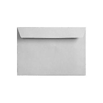 Hvide skræl/segl C6/A6 farvet hvide konvolutter. 120gsm FSC bæredygtig papir. 114 mm x 162 mm. tegnebog stil kuvert.