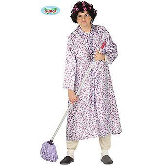 Costume de partie nue Granny Carnaval Carnaval JGA pour adulte grand-mère