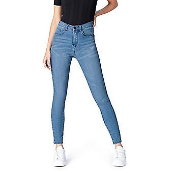 find. Women's Skinny High Rise Stretch Jeans, Blue (Light Wash), W36 x L32