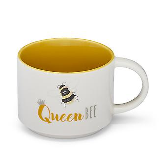 Cooksmart Bumble Bees Queen Bee Stacking Mug