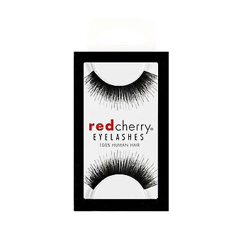Red Cherry False Eyelashes - #76 Frida - Perfect Curl Handcrafted Lashes