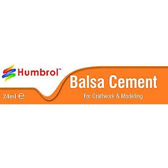 Humbrol Paint 24ml Balsa Cement (Tube)
