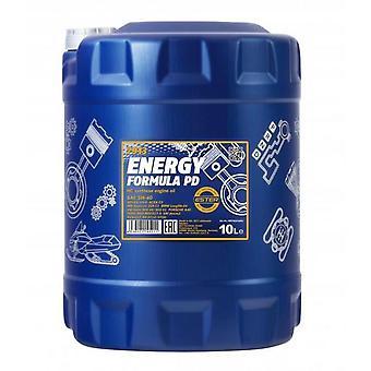 Mannol 10L Synthetic Engine Oil Energy Formula PD 5W-40 API SN/CH-4 Acea C3 MB 229.51 VW502/505.01