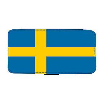 Svensk Flagga Samsung Galaxy S9 Plånboksfodral