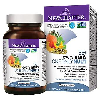 New Chapter Every Man One Daily 55 Plus, 48 Veg Tabs