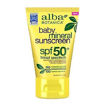 アルバボタニカベビーミネラル日焼け止めSpf50、4オンス