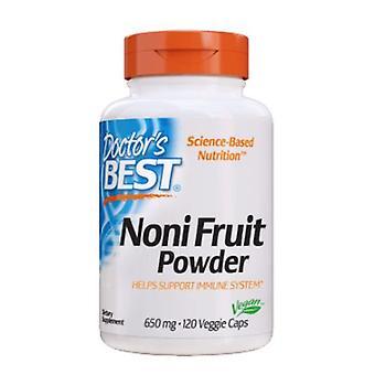Doctors Best Noni Fruit Powder, 650 mg, 120 Veg Caps