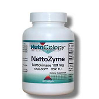 Nutricologie/ Allergie Onderzoeksgroep Nattozyme, 100 mg, 60 Softgels