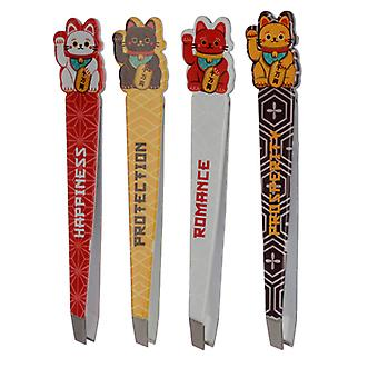 Fun Lucky Cat Maneki Neko Tweezers