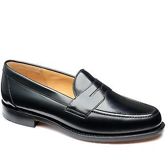 Loake Mens Eton Läder Penny Loafer