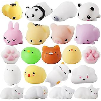 Soft Cute, Mini Animal Antistress Ball, Squeeze, Squishi Mochi Rising Stress