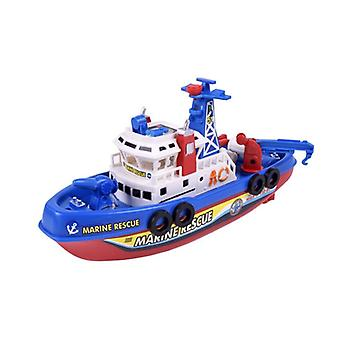Fast Speed Music Light, Electric Marine Rescue, Fire Fighting Boat,