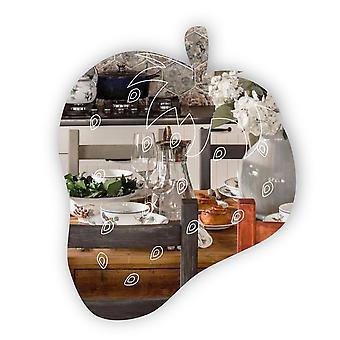 Espejo acrílico grabado en fresa