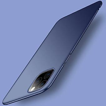 USLION iPhone 12 Pro Max אולטרה דק מקרה - כיסוי מקרה מט קשה כחול כהה