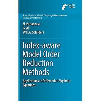 Index-aware Model Order Reduction Methods: Applications to Differential-Algebraic Equations (Atlantis Studies in Scientific Computing in Electromagnetics)