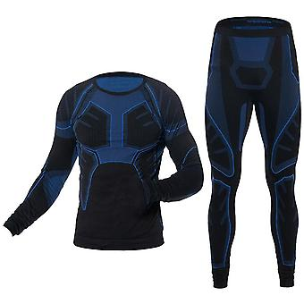 Men's Ski Thermal Unterwäsche Sport Sets Quick Dry Tight Shirts Jacken Sport