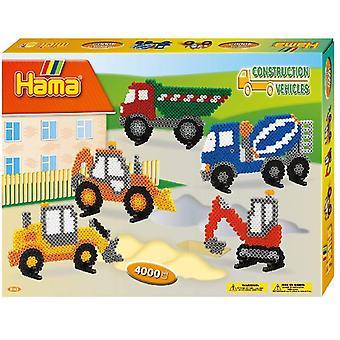 Hama große Baufahrzeuge Geschenk-Box