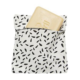 Soap pouch Coated organic cotton 1 unit