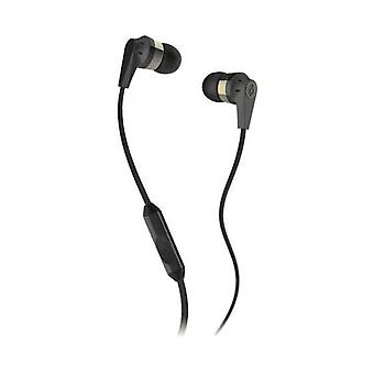 Skullcandy Ink'd 2.0 - In-Ear Earbuds with Microphone - Gold / Black