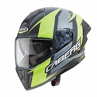 Caberg Drift Evo Speedstar Matt Anthracite/Yellow Helmet