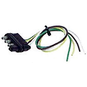 """Hopkins 48115 12"""" 4 Wire Flat Trailer End"""