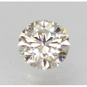 معتمد 0.60 قيراط أنا VS1 جولة رائعة المحسنة الطبيعية فضفاضة الماس 5.39mm