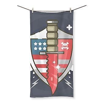 Bayonet beach towel