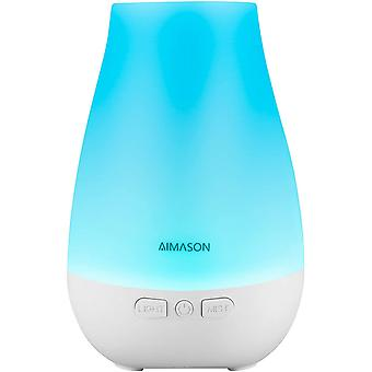 AIMASON 3rd Version 180ML Essential Oil Diffuser for Home, Office, Bedroom